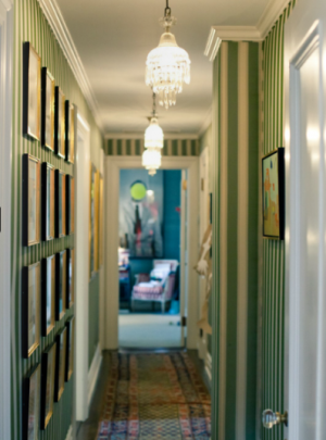 The hallway - Famous folk at home - Kate Spade and Andy Spade.PNG